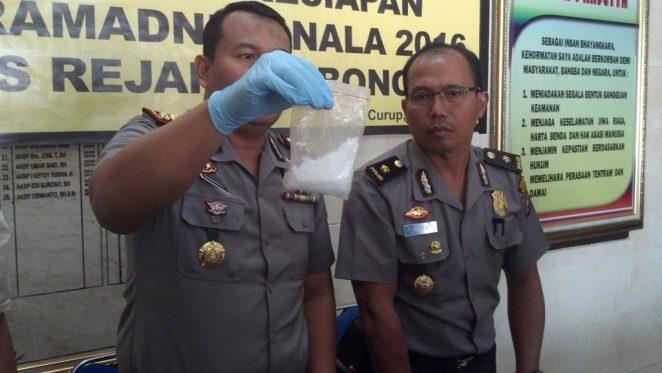 Polisi Amankan Shabu di Rumah  Pengedar
