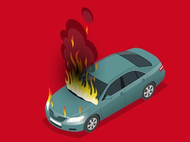 Jadi Korban Pembakaran Mobil  OTK, Warga Batik Nau Rugi Ratusan Juta
