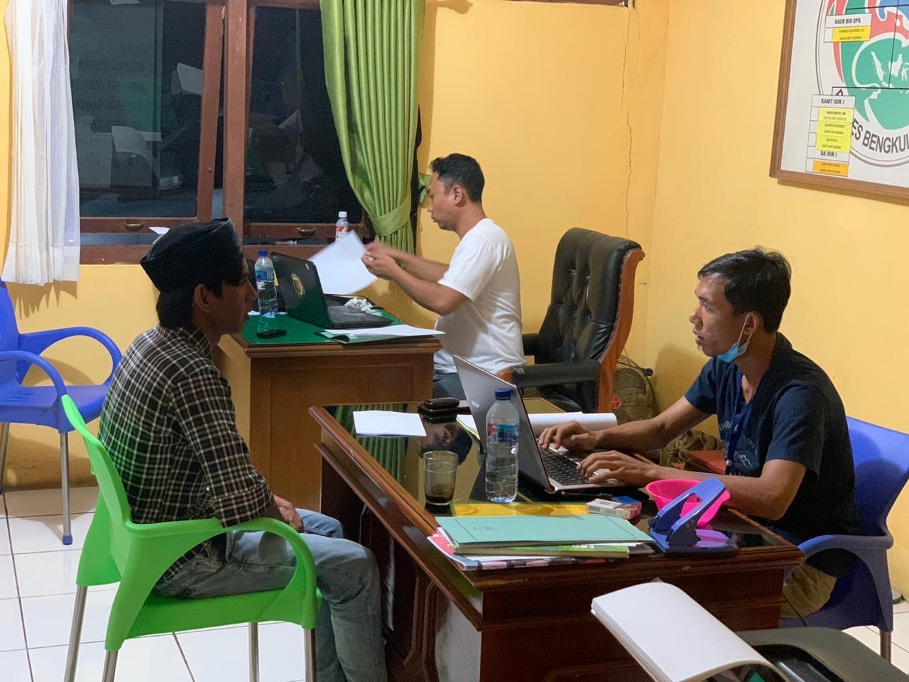 Sempat Buron, Langkah FS Alias Dongah Dihentikan Tim Res Narkoba Polres Bengkulu Selatan