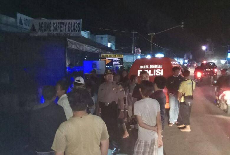 Toko Manisan Terbakar, Polres Bengkulu Turunkan Unit INAFIS