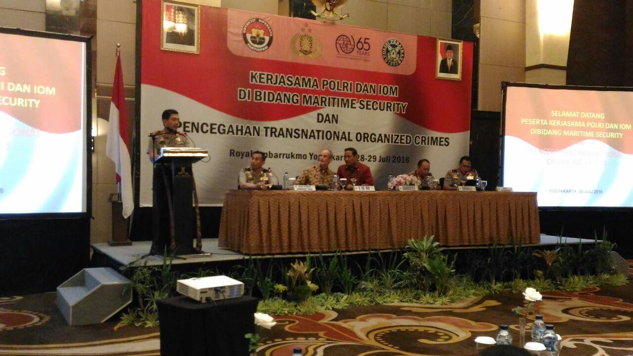 Pembukaan Kerjasama dibidang maritim dan Pencegahan Tranational Organized Crimes