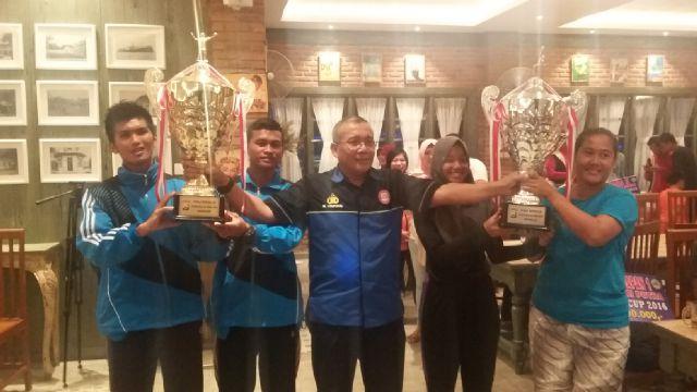 Provinsi dan Rejang Lebong Sabet Piala Bergilir Kapolda