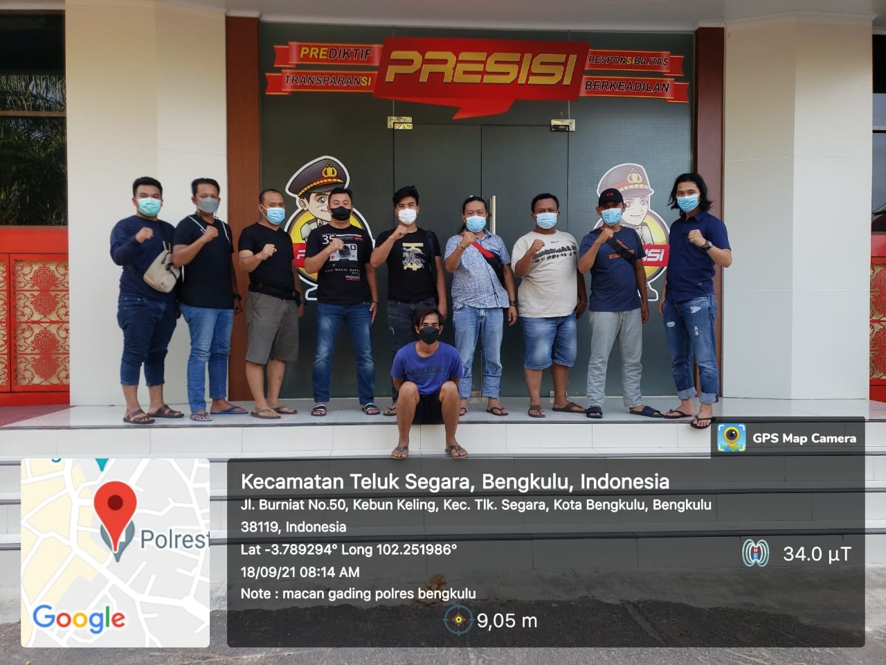 Tempo 5 Jam, Tersangka Penusukan Ditangkap Polres Bengkulu