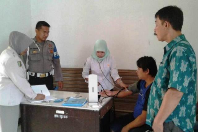 Polres Bengkulu Selatan Periksa Tahanan Secara Berkala