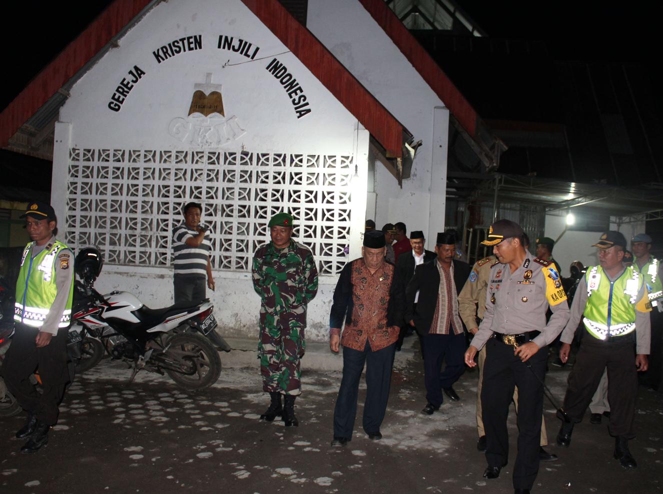 FKPD dan Tokoh Masyarakat Pantau Kegiatan Malam Natal di Kepahiang