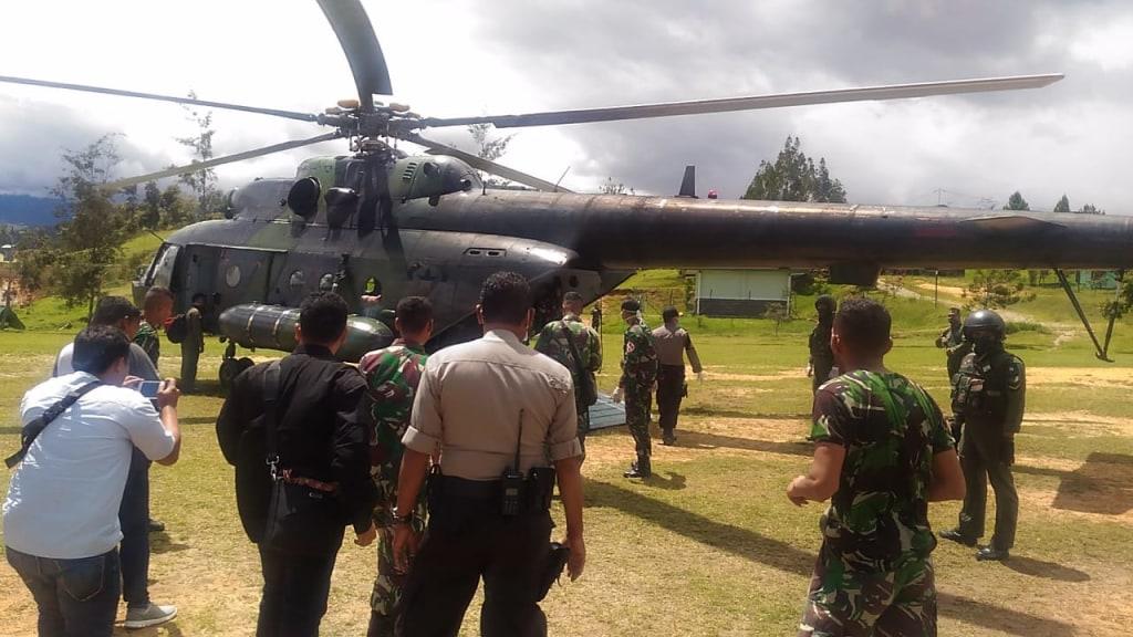 TNI-Polri Kuasai Mbua dan Yigi, Warga Kembali Beraktifitas