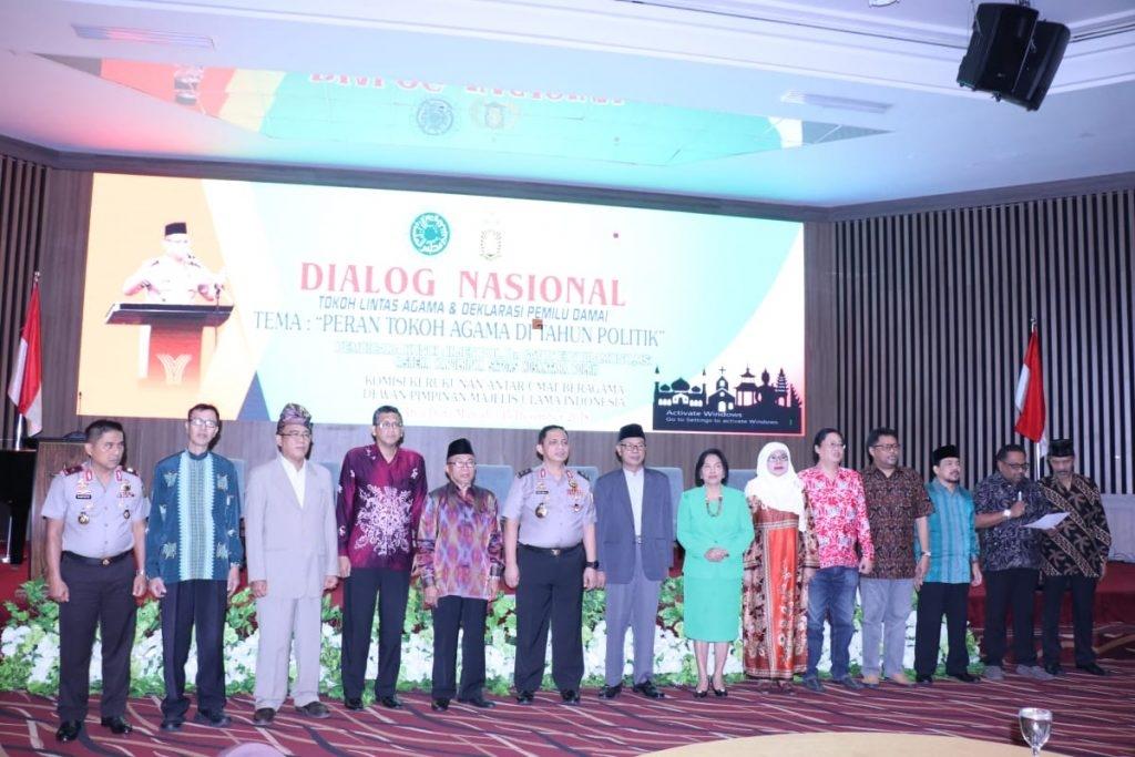 Jelang Pemilu 2019, Kasatgas Nusantara Ajak Tokoh Lintas Agama Jadi Cooler System