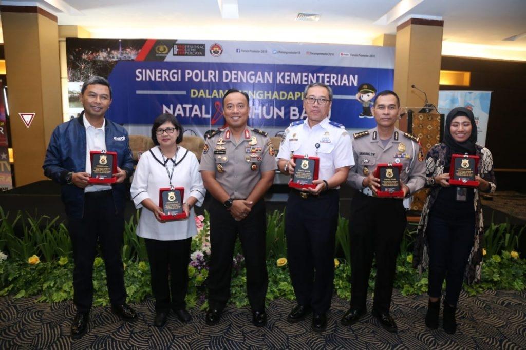 Jelang Natal dan Tahun Baru, Polri Gelar FGD Dengan Kementerian