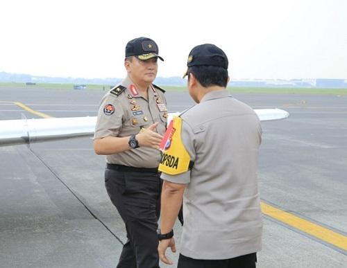 Kadiv Humas Polri Dampingi Kapolri Kunjungan Kerja Ke Jatim