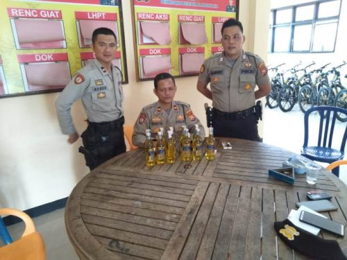 Patroli Pekat, Polres BS Sita Miras