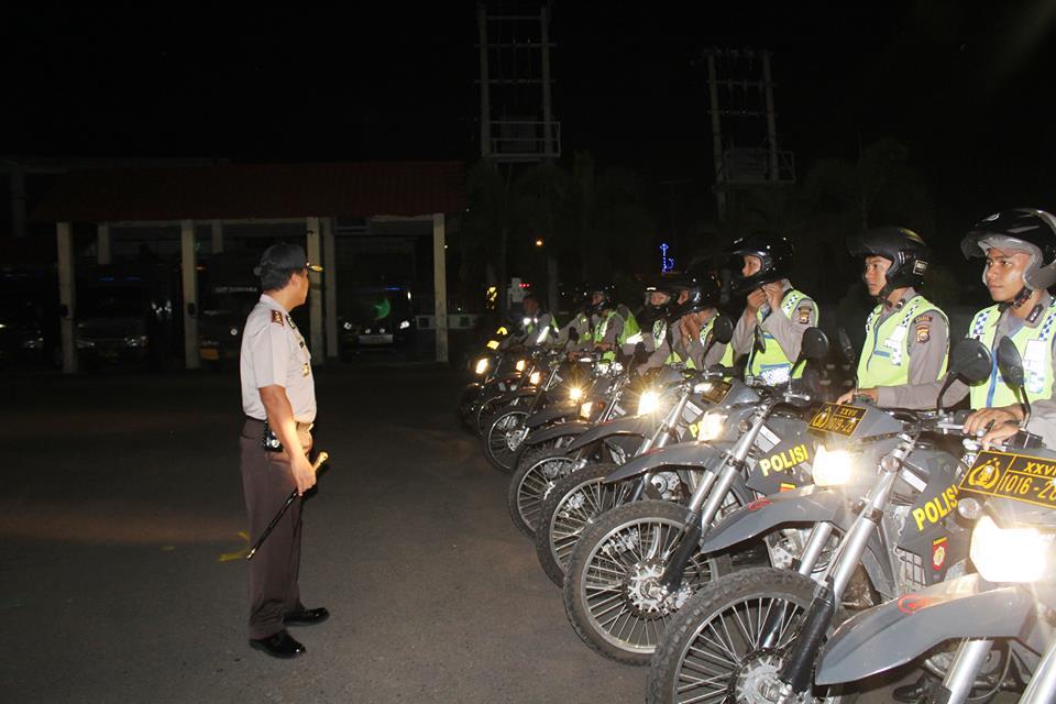Pam Idul Adha, Kapolres Lakukan Pengecekan Kendaraan Patroli