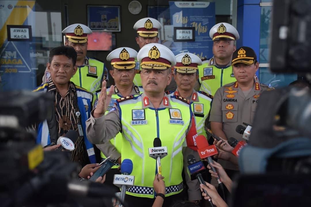 Malam Pergantian Tahun, Polri Berlakukan Rekayasa Lalu Lintas di Jakarta
