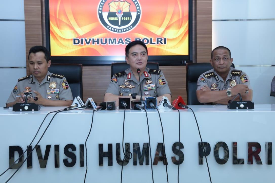 Kadiv Humas Polri Gelar Press Conference Kasus Penembakan di Papua