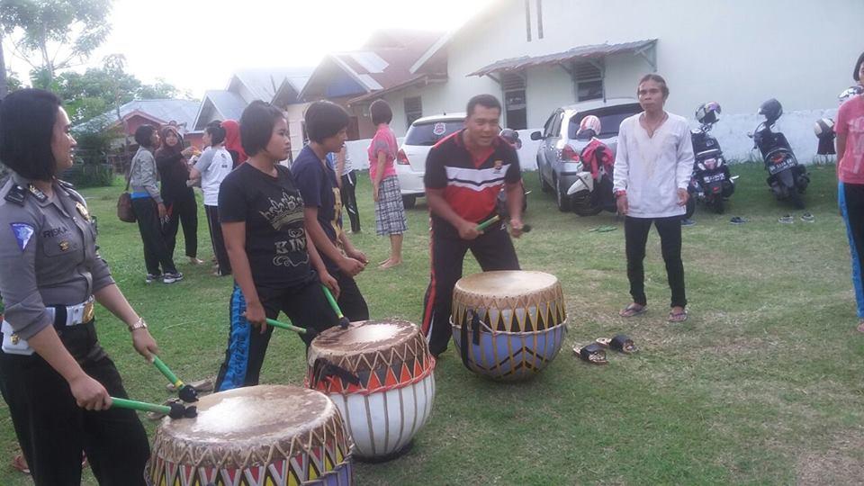 Menyentuh Dengan Budaya, Kapolres Ajak Komunitas Seni Jaga Kamtibmas