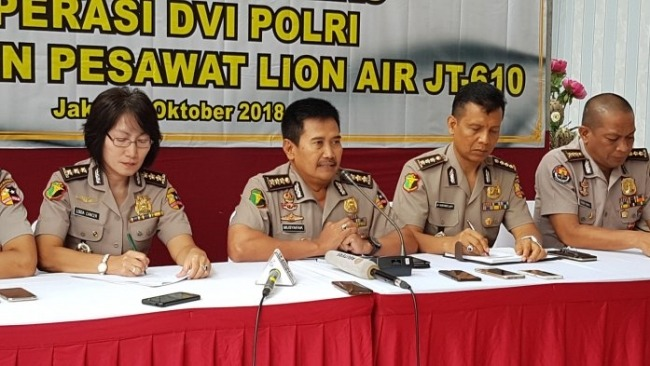 Dampingi Keluarga Korban Lion Air JT610, Polri Siapkan 20 Psikolog