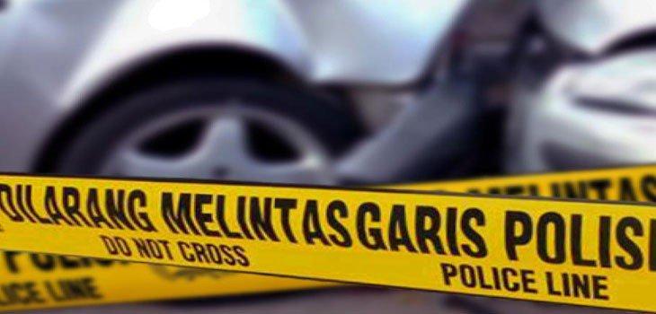 Akibat Mengantuk, Mobil Pegawai KPU Kaur Terguling