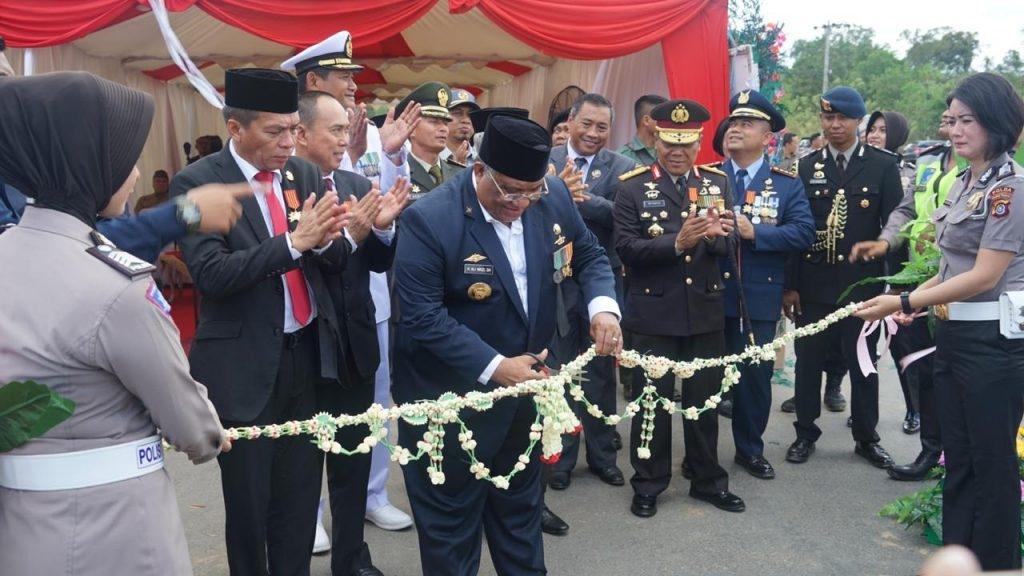 Berjasa Untuk Indonesia, Gubernur Sultra Resmikan Nama Jalan Komjen Dr. H. M. Jasin