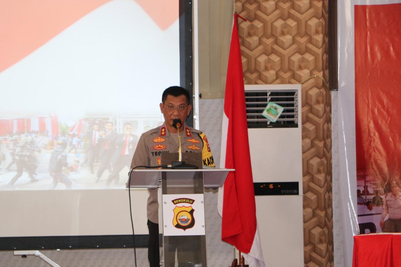 Tahapan Puncak Pilkada Serentak, Kapolda Bengkulu Sebar PJU Lakukan Pemantauan di Polres Jajaran