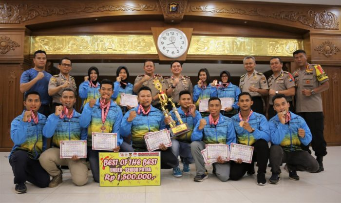 13 Karateka Polda Jatim Sabet 20 Medali Kejuaraan Karate Piala Pangdam V/Brawijaya