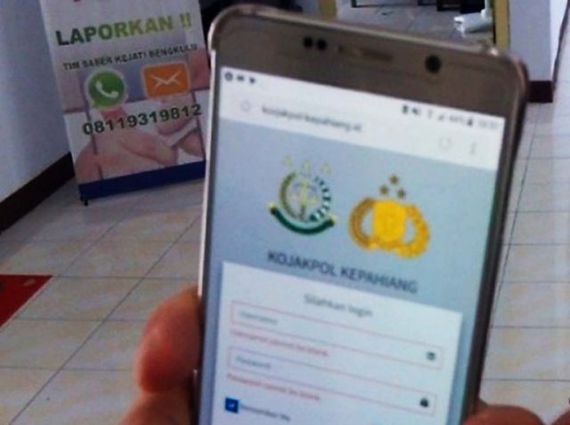 Kerjasama Polres Kepahiang Dengan Kejari, Melahirkan Aplikasi SIKODEKOJAKPOL