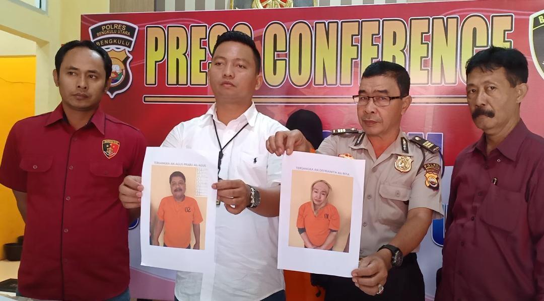 Polres BU Tangkap 2 Pelaku Penggandaan Uang