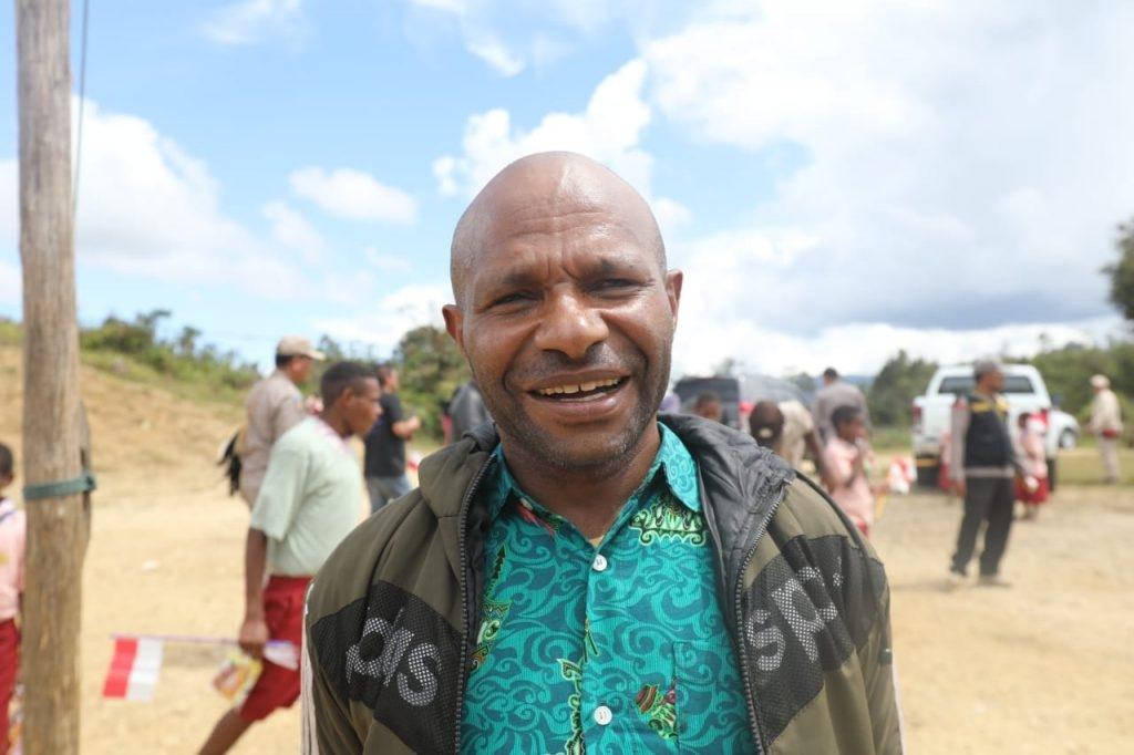 Kepala Sekolah SD Inpres Dimbalib Apresiasi Perhatian Binmas Noken Polri Untuk Anak-anak Pedalaman Papua