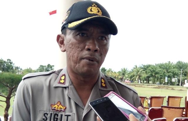Gabungan Personil Polres MM, TNI, dan KPHP Gagalkan Illegal Loging