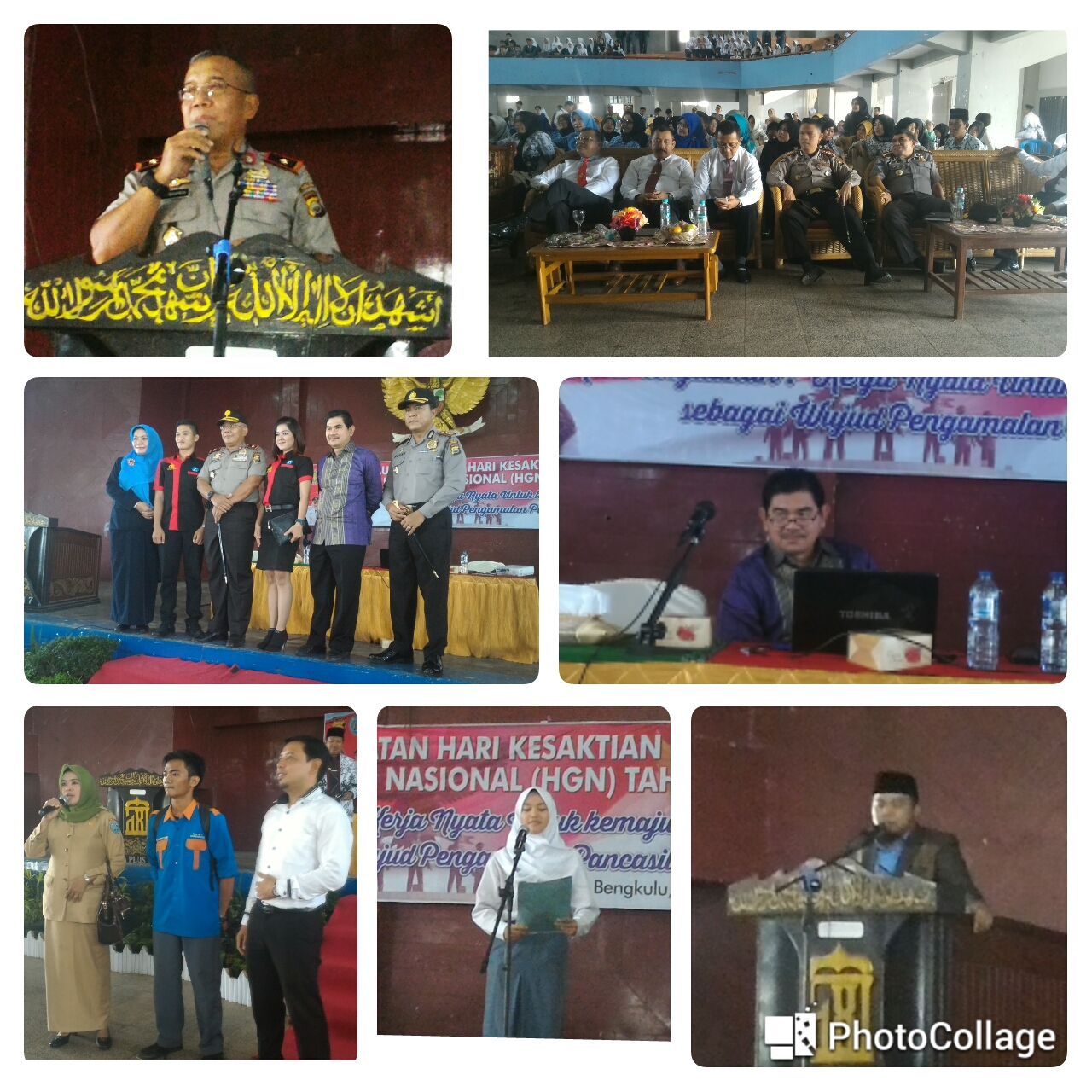 Puncak Peringatan Hari Kesaktian Pancasila di Hadiri Ribuan Guru Dan Pelajar