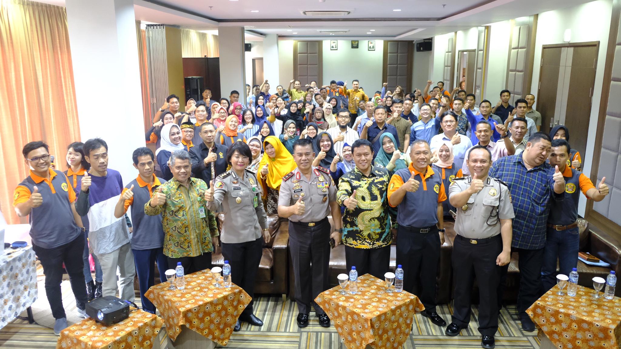 Kapolda Bengkulu Buka Workshop Update Kedokteran Forensik dan Kekerasan