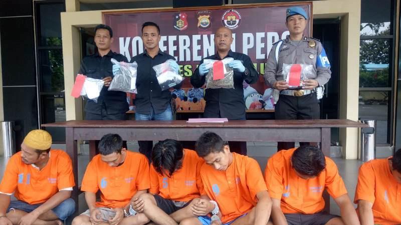 Tempo Seminggu 11 Tsk Penyalahgunaan Narkotika Ditangkap