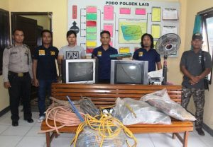 Polisi Ringkus 3 Tersangka Pencuri Di 3 TKP