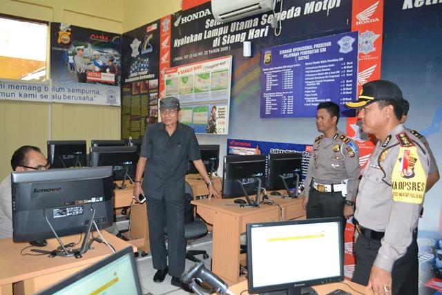 Kunjungan Tim Evaluator Polri ke Polres Bengkulu