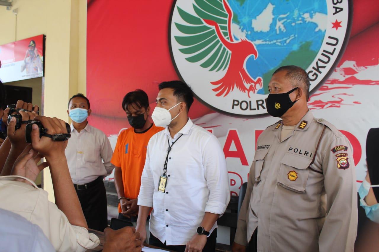 Lagi Transaksi Sabu, Pria Sawah Lebar Ditangkap Polres BKL