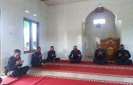 Pergantian Tahun, Brimob Polda Bengkulu Doa Bersama Covid-19 Cepat Berakhir