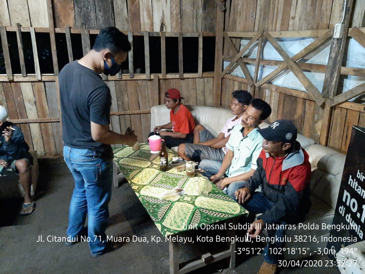 Ops Pekat Nala, Polisi Sita 50 Liter Tuak