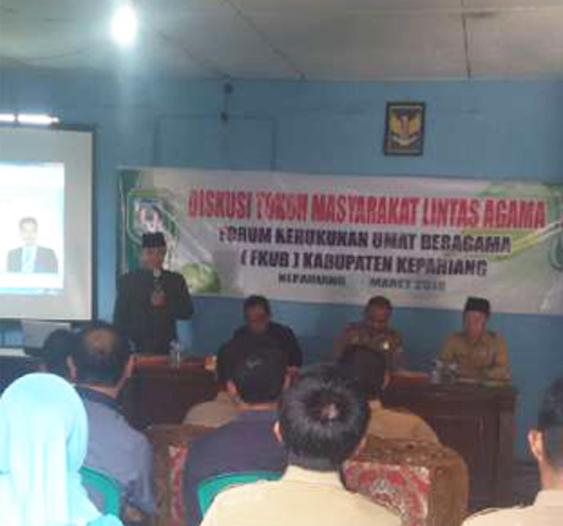 Kapolres Kepahiang Hadiri Silaturahmi Forum Kerukunan Umat Beragama