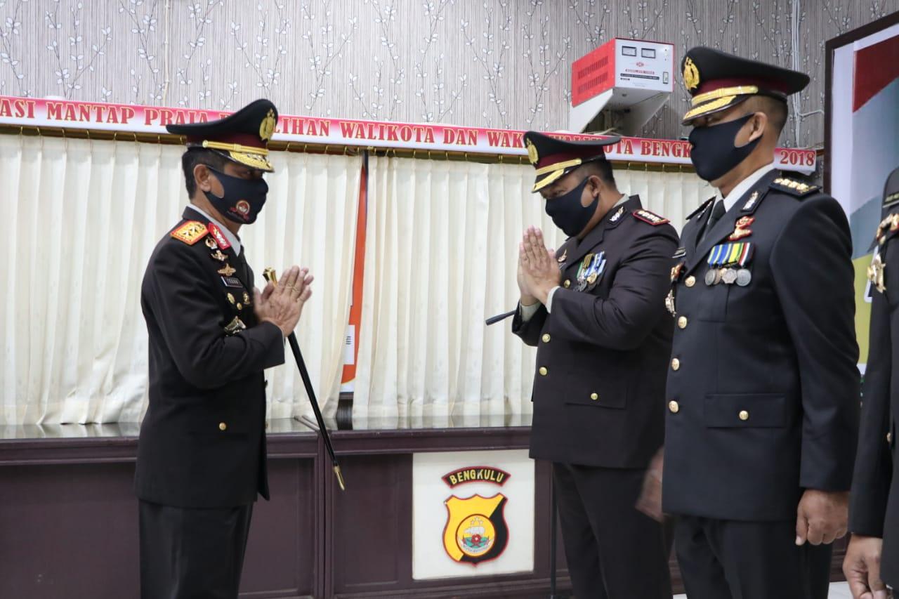 Hari Bhayangkara, 298 Personil Polda Bengkulu Naik Pangkat