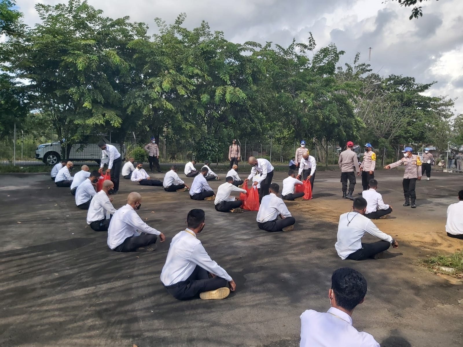 37 Casis Bintara Asal Polda Papua Dan 147 Papua Barat Ikuti Pendidikan Di SPN Polda Bengkulu