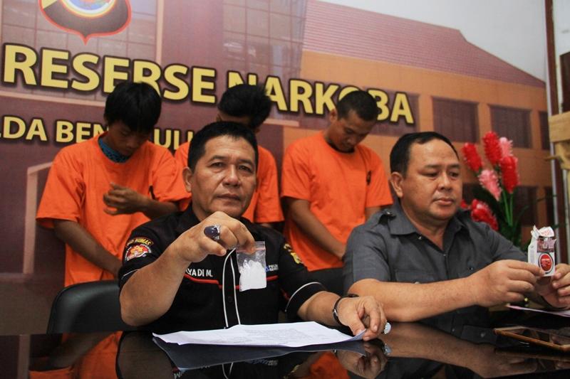 Sejak Januari Polda Bengkulu Ungkap 75 Kasus Narkoba
