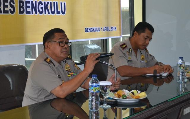 Irwasda Bengkulu, Anggota Polres Kota Harus Ada Nilai Tambah