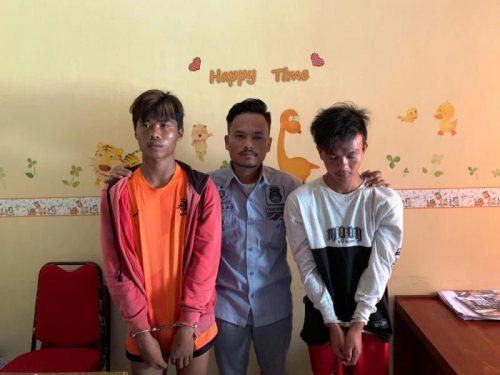 Maling HP, 2 Pemuda ditangkap Polisi