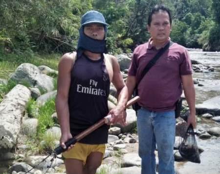 Polres Kaur Tangkap Pelaku Penyetruman Ikan