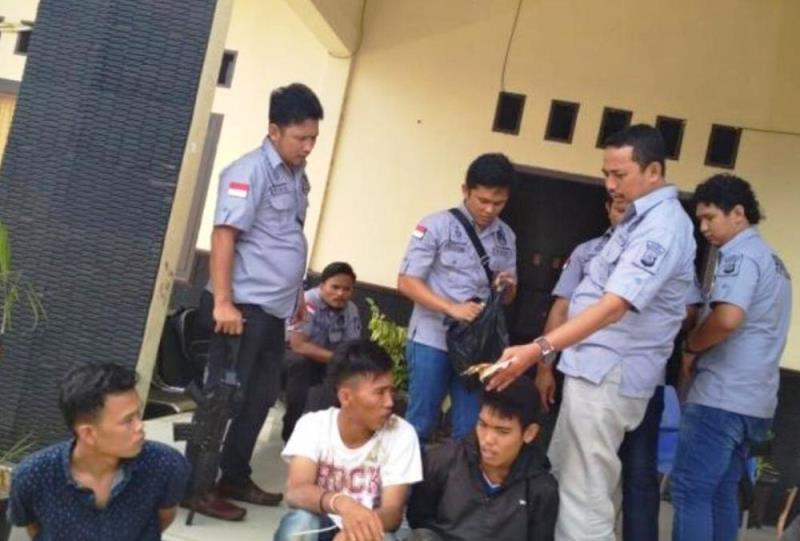 Polres Kaur Tangkap 2 Pemuda Pelaku Pungli