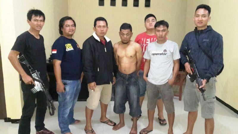 DPO Seluma Ditangkap Polres Kaur