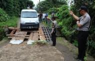 Jalan Rusak, Polisi Atur Lalin