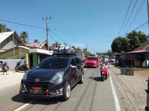 Arus Balik Arah Lampung Lancar