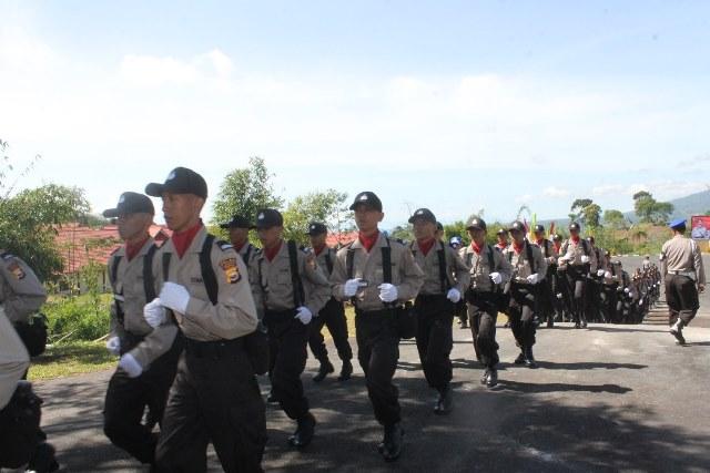 75 Siswa Polri Pendidikan di SPN Bukit Kaba