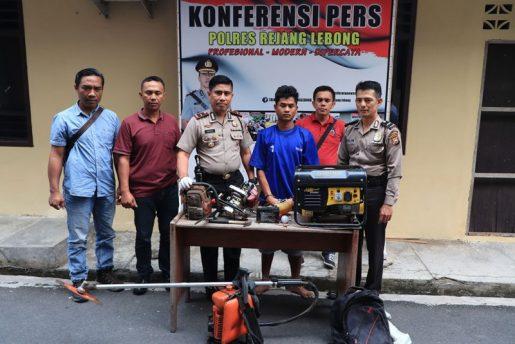 Spesialis Pencuri Pondok Kebun Ditangkap Polisi