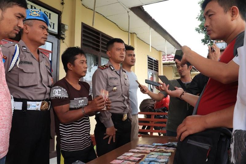 Terlibat Curat, Kuli Angkut Ditangkap Polisi