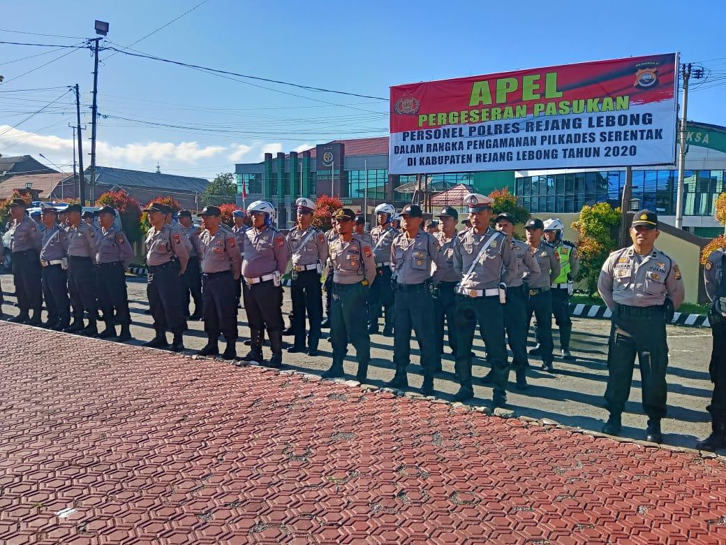 Polres RL Kerahkan 202 Personil Amankan Pilkades